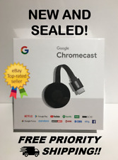Google Chromecast Digital HD Media Streamer (2nd Generation) Brand New Free
