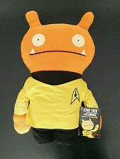 """SDCC 2015 exclusive Star Trek 12"""" UGLYDOLL Wage Captain yellow shirt COMIC-CON"""