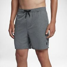"""Hurley Men's One & Only Heathered Volley 2.0 17"""" Boardshorts"""