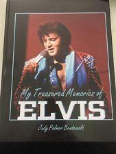 My Treasured Memories Of Elvis - Judy Palmer Photo Book - RARE PHOTOS OOP