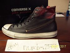 NEW Converse All Star Tornado zip Burnished leather by John Varvatos size 10.5