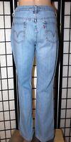 """LEVI'S 515 Women's Size 10 M Medium Boot Cut Stretch Denim Jeans 31"""" Inseam"""