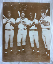 Cincinnati Reds 11x14 Photo Johnny Bench, Pete Rose, Joe Morgan & Tony Perez