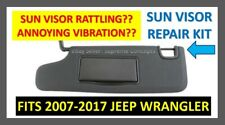 Jeep Wrangler Sun Visor Free Shipping Repair Kit 2007-2017 Jk Jku Sunvisor New