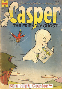 CASPER THE FRIENDLY GHOST  (1952 Series)  (HARVEY) #24 Very Good Comics Book