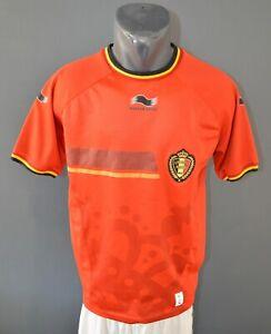 Belgium Football Soccer National Mens 2013/2014 Shirt Burrda Jersey Size Adult M