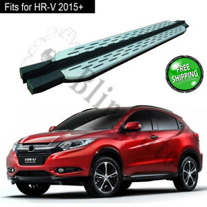 Fits for Honda HR-V 2015+ side step running board 2pcs protect bars pedal chairs