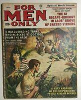 FOR MEN ONLY Magazine November 1961 Escape-Hideout Laos' Grove of Sacred Virgins