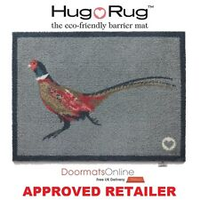 Hug Rug 85x65cm (PHEASANT 1) Dirt Trapper Door / Floor Mat Machine Washable