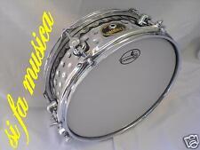 """TAMBURO rullante in metallo 12"""" x 4,5"""" (batteria timpano cassa piatto snare tom)"""