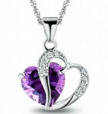 Crystal Costume Necklaces & Pendants