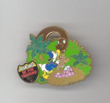 Disney Animal Kingdom Adventures Trading Donald Duck Baby Dinosaur Angry Mom Pin