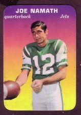 1970 TOPPS GLOSSY JOE NAMATH CARD NO:29 NEAR MINT CONDITION