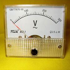 Volt Meter 300V AC Analog Gauge 240V Voltage Panel Display Generator Solar 85L1