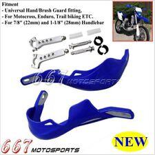 "Blue Hand Guard Handguards For ATV KTM CRF 7/8"" & 1 1/8"" Fat Bar Yamaha XT250X"