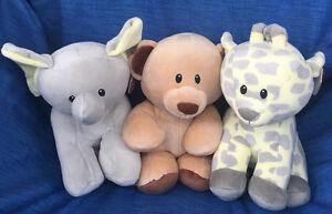 W-F-L Baby TY Selection Stuffed Toy 9 13/16in Animal Teddy Bear Monkey