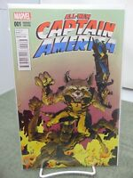 All-New Captain America #1 001 Variant Edition Marvel Comics vf/nm CB2235