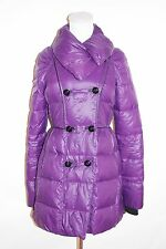 Juicy Couture Womens Lightweight Down Puffer Purple Coat Jacket  Size S