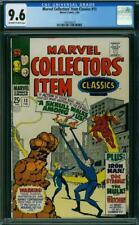 Marvel Collectors Item Classics #13 CGC 9.6 1968 FF! Hulk! Iron Man! K4 119 cm
