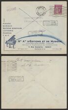 France 1934 - Illustrated Cover Nancy - Piano Music N715