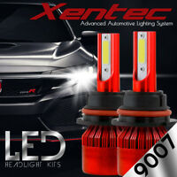 XENTEC LED HID Headlight kit 9007 HB5 White for 1999-2004 Ford F-350 Super Duty