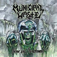 Municipal Waste ‎- Slime And Punishment LP Bottle Green Vinyl - Thrash Metal NEW