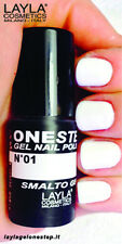 Layla Smalto Unghie One Step Gel Polish N.01 White