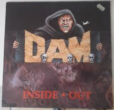 D.A.M. – Inside • Out Lp 1991 Germany Issue Noise International  VG+/NM Inner