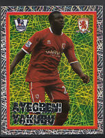 Merlin Football Sticker - Kick Off 2007-08 - No 152 - Middlesbrough - Yakubu