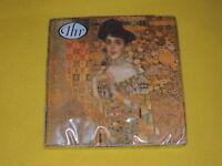 1 Packung 20 Servietten Gustav Klimt  Adele Bloch-Bauer Kunst IHR  ovp Paket IHR