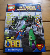 Lego Super Heroes Set 6862 Superman vs. Power Armor Lex New Sealed in Box