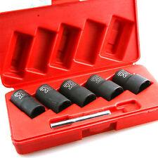 """6pcs Twist Socket Set 1/2"""" Drive (6PCS) - 50L - wheel lock nut remover / removal"""