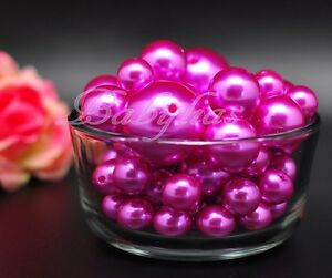 Vase Filler Pearls Beads Pebbles Wedding Decorative Centerpieces Plastic Balls