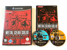Metal Gear Solid The Twin Snakes in OVP - Nintendo Gamecube 23