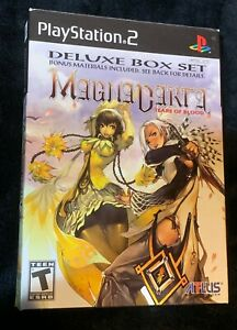 Magna Carta Tears of Blood Limited Edition - PS2 - Complete in Box CIB