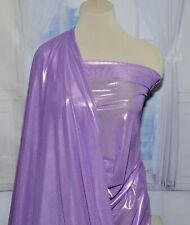 """POWER MESH FOIL LILAC FABRIC  4 WAY STRETCH  58""""  , DANCE, FORMAL, COSTUME BTY"""