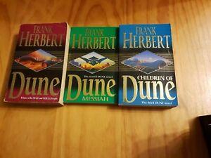 Frank Herbert. Children of Dune, Dune, Messiah