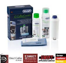 Delonghi- Descaler-WaterFilter -MilkJug Cleaner - Water Test - Micro Cloth Kit