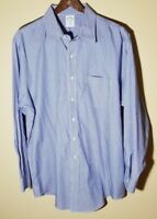 Brooks Brothers Cotton Non-Iron Slim Fit Striped Dress Shirt 17 x 34