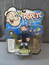 POPEYE THE SAILORMAN 2001 Peacoat Popeye Action Figure SPINACH
