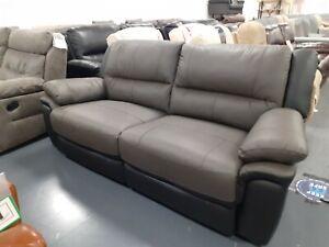 Pluto 3 seater power reclining sofa . Ex ScS
