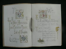 Cardiff 1928-32 Sketches for Presentations to 4th/5th Marquess of Bute & Others