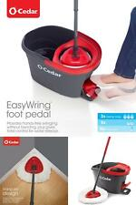 O-Cedar Spin Mop And Bucket Set, Foot Pedal Easy Wring, Extendable Microfiber
