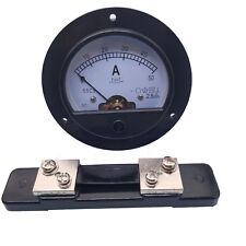 Us Stock Dc 050a Analog Amp Current Pointer Needle Panel Meter Ammeter Amp Shunt