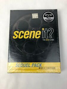 Scene It? Sequel Pack (Movie Edition 1, 2003 DVD) More Film Clips, Trivia Cards