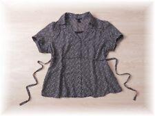 * H&M * super hübsche Schlupfbluse Pünktchen Bluse * Gr. 54