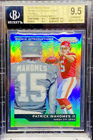 Patrick Mahomes 2017 Panini Prizm Rookie Introductions #2 True Gem Mint BGS 9.5