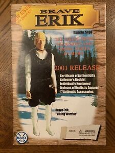 Marx Johnny West Brave Erik the Bold Viking Box Marx Mint