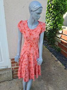 Eucalyptus Clothing Co Sally Skater Dress UK 10 Summer Dress Asos Very Boohoo