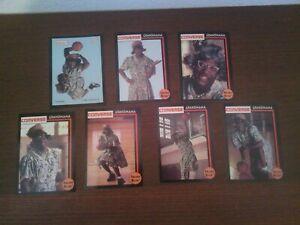 1993 Front Row Larry Johnson LJ Grandmama Set (7 cards)